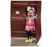 Disney Minnie Mouse Period Minnie Flapper Minnie Mouse Poster
