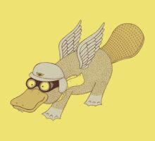 Platasus the Aviator by vonplatypus