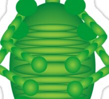 Happy Green Insect Sticker
