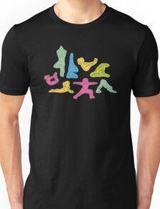 Rainbow Yoga Pattern Unisex T-Shirt