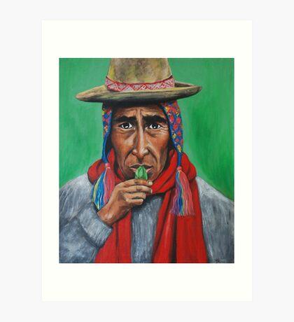 Peruvian Shaman Art Print