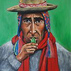 Peruvian Shaman by margotmythmaker