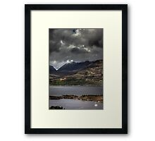 Highlands Sailing Framed Print