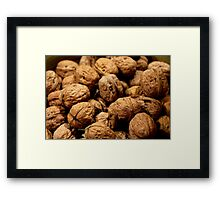 Going Nutty Framed Print