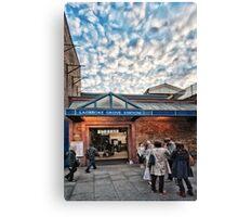 Ladbroke Grove Tube Station Canvas Print
