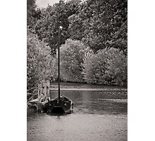 Classic Boat in Germany Photographic Print