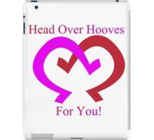 Head over Hooves iPad Case/Skin