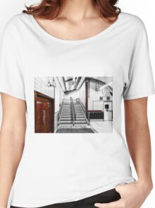 Latimer Road Tube Station Women's Relaxed Fit T-Shirt