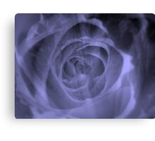 A Blue Rose for a Blue Lady- JUSTART  ©  Canvas Print