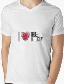 I love True Detective Mens V-Neck T-Shirt