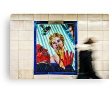 Leystone Tube Station Canvas Print