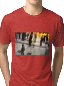 Liverpool Street Tube Station Tri-blend T-Shirt