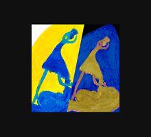 Crazy Ballerina Blues Unisex T-Shirt