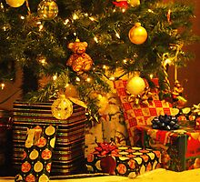 Presents under the Tree by kellimays