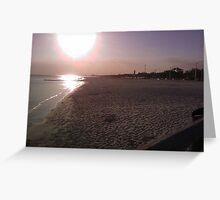 Biloxi Sunset Greeting Card
