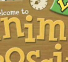 Animal Crossing New Leaf Logo Sticker