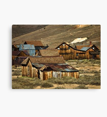 Bodie Community Living Canvas Print
