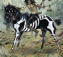 4 horsemen - FAMINE by ATLANTISVAMPIR-