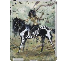 4 horsemen - FAMINE iPad Case/Skin