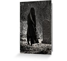 Cold Mourning Greeting Card