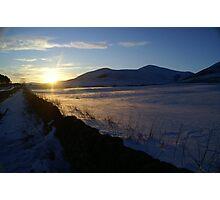 Snow Blow Photographic Print