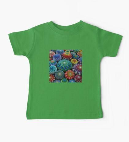 Jewel Drop Mandala Stone Collection #1 Baby Tee