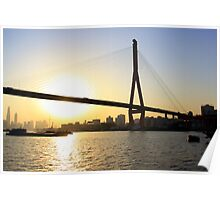 Cityscape Series - River Dreaming  Poster