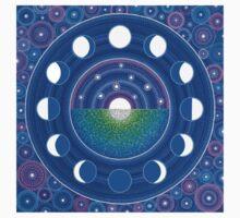 Moon Phase Mandala T-Shirt