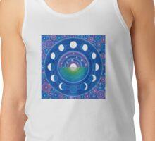 Moon Phase Mandala Tank Top