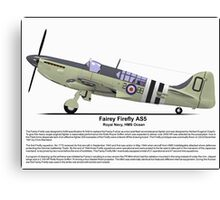 Fairey Firefly AS5 Profile Canvas Print
