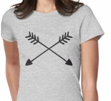 Hand Drawn Arrows  Womens Fitted T-Shirt