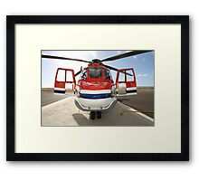 Helicopter Eurocopter AS332L1 Puma Framed Print