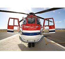 Helicopter Eurocopter AS332L1 Puma Photographic Print