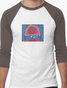 Autumn Blossoms Men's Baseball ¾ T-Shirt