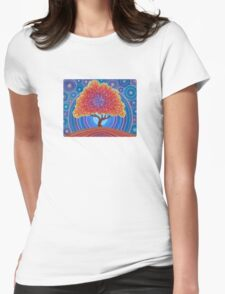 Autumn Blossoms Womens Fitted T-Shirt