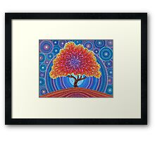 Autumn Blossoms Framed Print