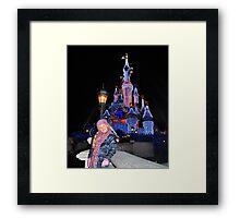 Annabel in Disneyland Framed Print