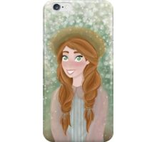 Anne Shirley  iPhone Case/Skin
