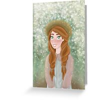 Anne Shirley  Greeting Card