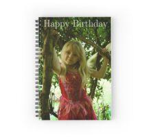 Birthday Fairy Spiral Notebook