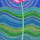 Lotus Growing by Elspeth McLean