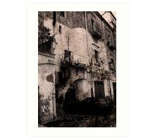 Irsina (Italy) Art Print