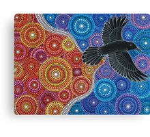 Raven Bringing in the Light Canvas Print