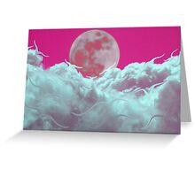 Pink Christmas Memories Greeting Card
