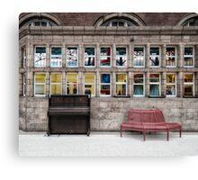 Marylebone Tube Station Canvas Print