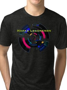 Hapax Legomenon Tri-blend T-Shirt
