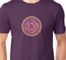Red Ouroboros Celtic Snake Unisex T-Shirt