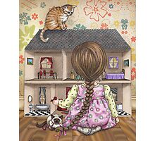 the doll house Photographic Print