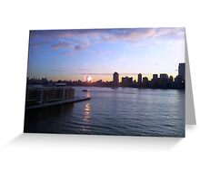 Manhattan Winter Morning Greeting Card