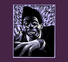 Screamin' Jay Hawkins. Scratchboard drawing 1989 Unisex T-Shirt